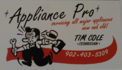 Voir le profil de Appliance Pro - Fall River