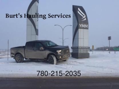 Burt's Hauling Services - Déménageurs de charges lourdes