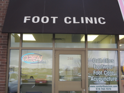 Comfort Foot Clinic - Foot Care - 519-742-7373