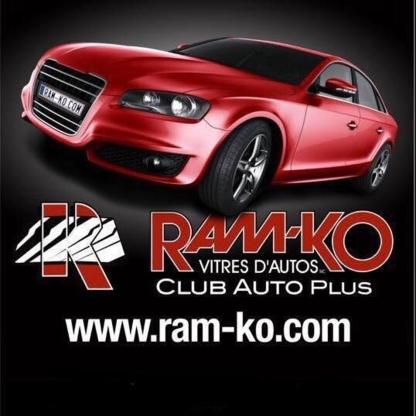 Ram-Ko Club Auto Plus - Pare-brises et vitres d'autos - 450-443-4660
