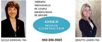 Thérapeute en Relation d'Aide TRA - Psychologists - 450-346-3503