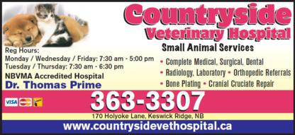 Countryside Veterinary Hospital - Veterinarians - 506-363-3307