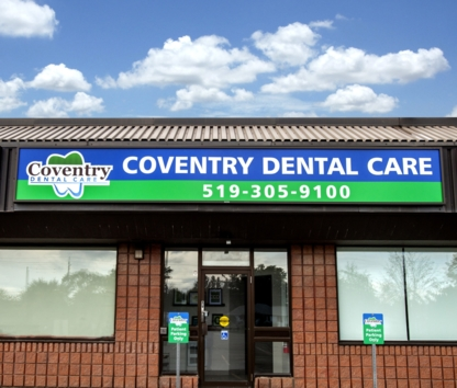 Coventry Dental Care - Dentists - 519-305-9100