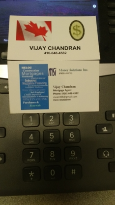 Vijay Chandran Mortgage Agent - Mortgage Brokers