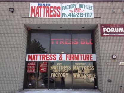 Rishi Mattress - Furniture Stores - 416-213-1117