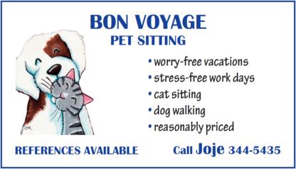Bon Voyage - Pet Sitting Service