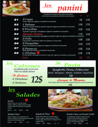 Pizzeria Cortina - Pizza et pizzérias