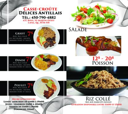 Delice Antillais - Bistros - 450-490-4882