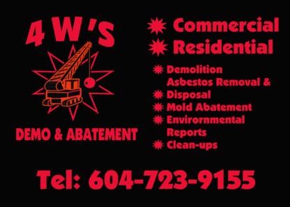 4WS Demo Ltd - Demolition Contractors