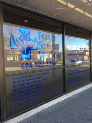 Fraser Street Medical - Physicians & Surgeons - 604-322-3366