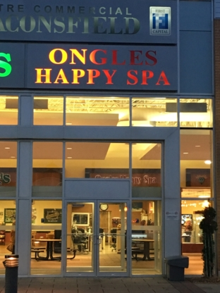 Ongles Happy Spa - Épilation à la cire - 514-426-2562