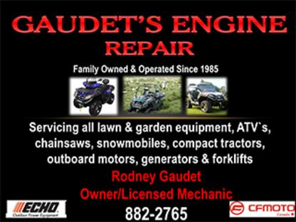 Gaudet's Engine Repair - All-Terrain Vehicles - 902-882-2765