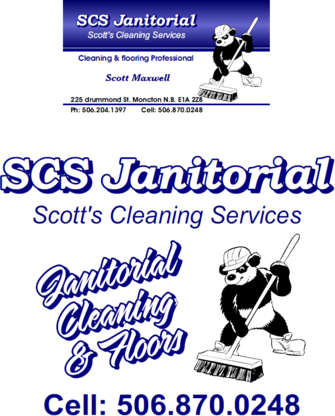 SCS Janitorial - Janitorial Service - 506-870-0248
