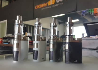Crown Vapour - Tobacco Stores - 780-461-0198