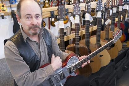 Kickaxe Guitars Inc - Musical Instrument Stores - 403-410-9199