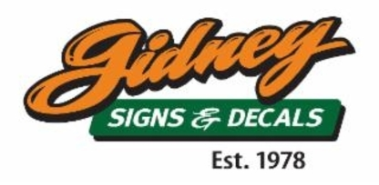 Gidney Signs - Signs - 604-858-5696