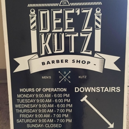Dee'z Kutz - Barbers - 403-406-6108