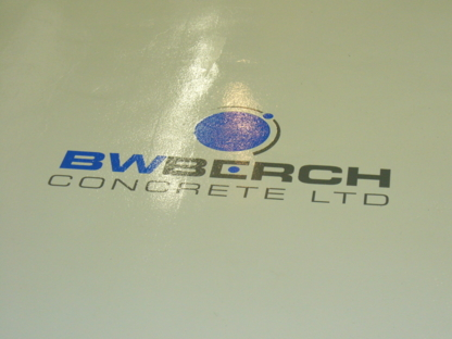 B W Berch Concrete Ltd - Waterproofing Contractors - 780-532-1409