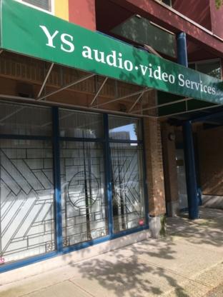 Y S Audio-Video Services - Vente et réparation de téléviseurs - 604-873-5773