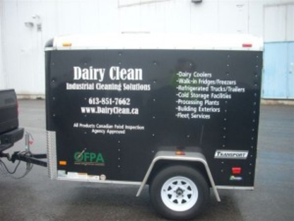 Dairy Clean - Chemical & Pressure Cleaning Systems - 613-851-7662