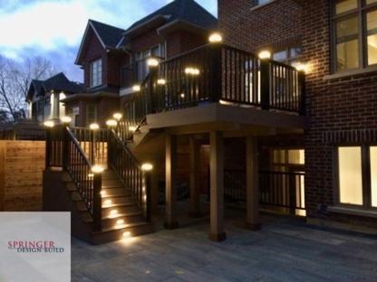 Springer Design-Build - General Contractors - 647-242-4931