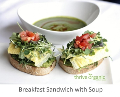 Thrive Organic Kitchen and Café - Vegetarian Restaurants - 416-252-7700