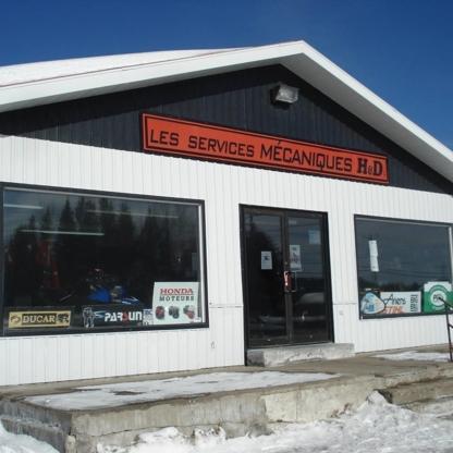 Les Services Mecanique H et D Inc - Garages de réparation d'auto - 418-236-4564