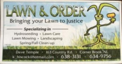 Lawn & Order - Landscape Contractors & Designers
