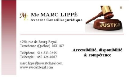Marc Lippé Avocat - Business Lawyers - 514-833-0655