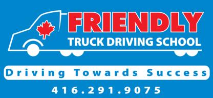 Friendly Truck Driving School - Driving Instruction - 416-291-9075