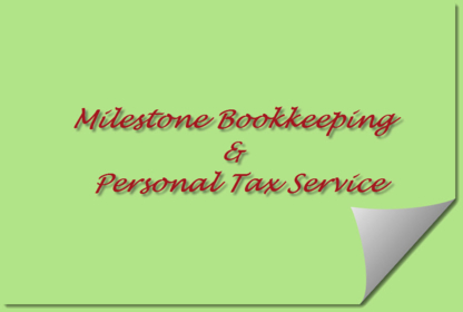 Milestone Bookkeeping & Tax - Tax Return Preparation - 204-772-8786
