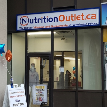 Nutrition Outlet - Health Food Stores - 226-777-5922