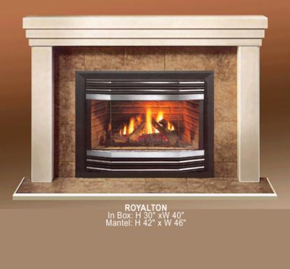 Majestic Stone Mantle Inc - Fireplaces