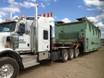 Rizz Logistic Inc - Transportation Service - 780-623-9544