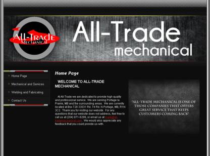 All-Trade Mechanical - Hydraulic Service - Hydraulic Equipment & Supplies - 204-871-6299