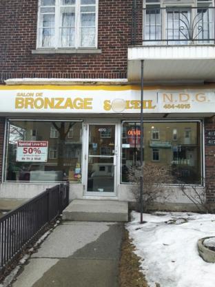 Bronzage Soleil NDG - Salons de bronzage - 514-484-4915