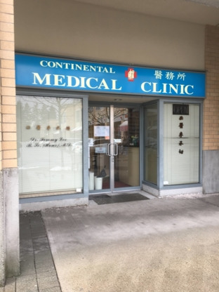 Continental Medical Clinic - Clinics - 604-231-8970