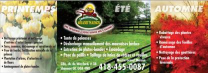 Embellissement Grand-Maison - Paysagistes et aménagement extérieur - 418-455-0087