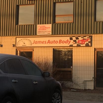 James Auto Body Ltd - Réparation de carrosserie et peinture automobile - 403-291-3552