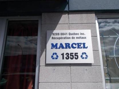 Récupération métaux Marcel - Scrap Metals - 514-242-7362