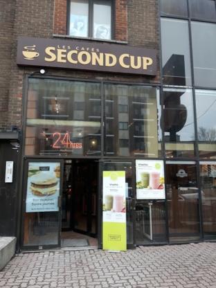 Second Cup CAFÉ & Cie avec Pinkberry yogourt glacé - Cafés - 514-733-2710