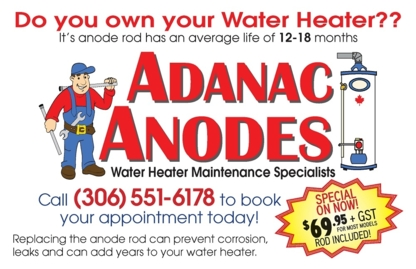 Adanac Anodes - Plumbers & Plumbing Contractors