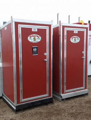 Eh! Royal Flush - Toilettes mobiles