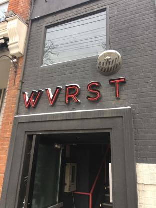 Wvrst - Restaurants - 416-703-7775