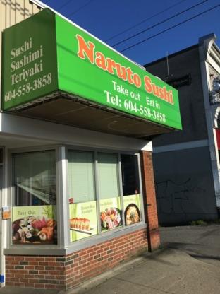 Naruto Sushi - Sushi & Japanese Restaurants - 604-558-3858