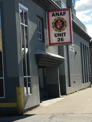 Army Navy & Air Force Veterans In Canada Unit 26 - Organismes de charité à but non lucratif - 604-321-3023