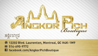 Boutique Angkor Pich - 514-334-7888
