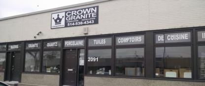 Crown Granite Inc - Comptoirs - 514-538-4343