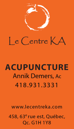 Acupuncture Annik Demers - Acupuncteurs