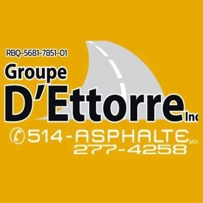 Le Groupe D'Ettorre Inc - Building Contractors - 514-648-6996